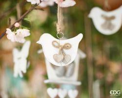 Uccellino o Farfalla in legno da appendere 725261.10