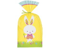 Sacchetti Pasquali con coniglio confezione 20 pz con laccetti 0266285