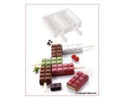 Stampo in Silicone Set 2 per Gelato Chocostick ETGEL02