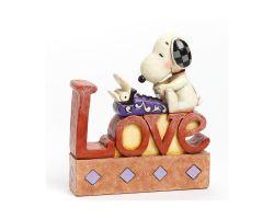 LOVE JIM SHORE PEANUTS 4042379