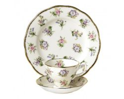 Tazza con piattino e piatto dolce Spring Meadow 1920 40017588