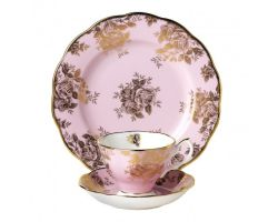 Tazza con piattino e piatto dolce Golden Rose 1960 40017590