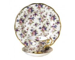 Tazza con piattino e piatto dolce English Chintz 1940 40017568