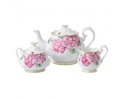 TEIERA ZUCCHERIERA LATTIERA SET 3 PEZZI FRIENDSHIP MIRANDA KERR 40001821 Royal Albert