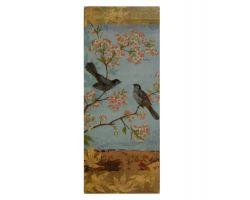 Quadro Uccellini e Boccioli Primavera 5031A