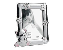 Cornice Portafoto Argento Silver 13 x 18 cm Linea A186