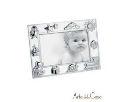 Cornice Portafoto Argento Silver 10 x 15 cm Linea M865