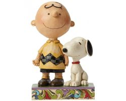 CHARLIE BROWN ET SNOOPY JIM SHORE PEANUTS  4042387