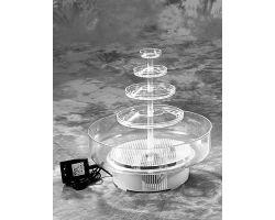 Fontana elettrica ad acqua per alzate FONTANINA