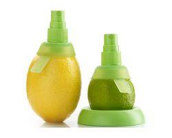 Set 2 accessori per estrarre, vaporizzare il succo di limone o lime