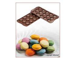 Stampo in Silicone SCG21 CHOCO MACARONS
