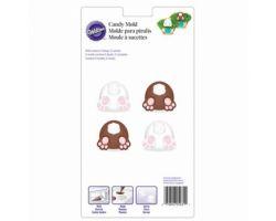 Stampo cioccolatino coniglio con piedi 0266316