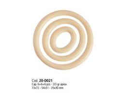 Stampo Policarbonato Cioccolato per decorazioni Tonde 20-D021