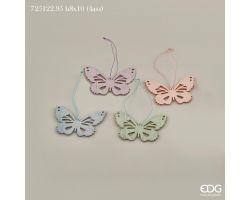 Farfalla da appendere in legno decorativa 725122.95