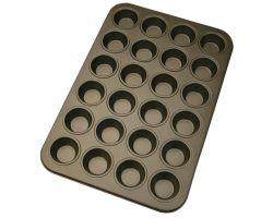 Teglia 24 cavità antiaderente per Mini muffin e cupcakes 488052