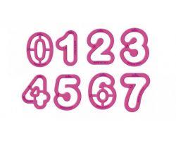 Stampini set 9 tagliapasta numeri (grandi) 0255080