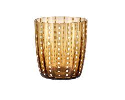 Bicchiere Tumbler Carnival Ambra LIVELLARA 720LS0904