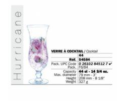 Calice Flute Hurricane 44 cl  70082   -24- 54584