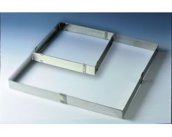 Fascia inox H 4 cm RETTANGOLO IN ACCIAIO MOBILE RETSPECIAL 1