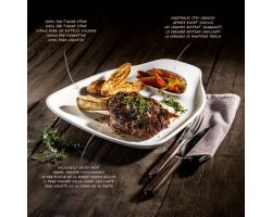 2 Piatti Bistecca XL 35x33 BBQ Passion Villeroy & Boch 1041892570