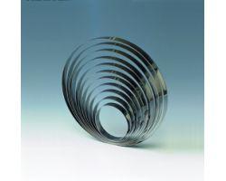 Fascia inox H 4 cm Ø 22 cm CERCHIO 1H4X22