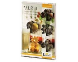 STAMPINO VIP 4 PZ INOX 143432