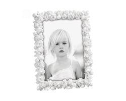 Cornice Portafoto in Resina con Boccioli 20 x 25 cm  Linea A464