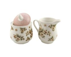 Set lattiera zuccheriera Cottage Flower Dinnerware  SUGCR2466