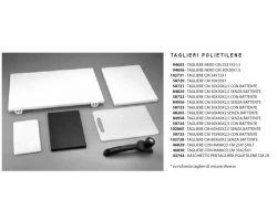 Tagliere Politene Nero 25 x 15  94655 - TPPN251515