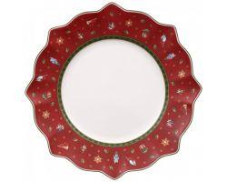 Piatto Piano Rosso Toys delight 1485852620