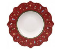 Piatto Fondo Rosso Toys delight 1485852700