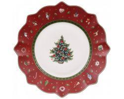 Piatto Dessert o Frutta Rosso Toys delight 1485852640
