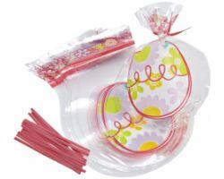 Sacchetti Pasquali sagomati uovo confezione 15 pz con laccetti 0265643
