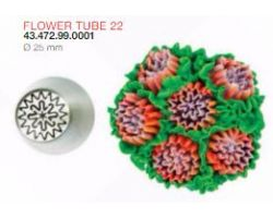 BOCCHETTA FLOWER TUBE 22 ø 25 mm Codice : 43.472.99.0001