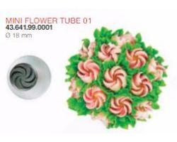 BOCCHETTA MINI FLOWER TUBE 01 ø 18 mm Codice : 43.641.99.0001