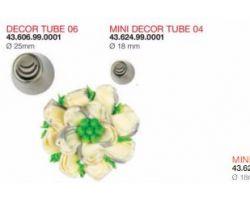 BOCCHETTA DECOR TUBE 06 ø 25 mm Codice : 43.606.99.0001