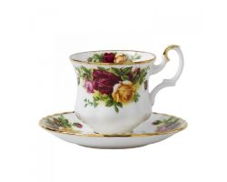 Tazza caffè con Piattino OLD COUNTRY ROSES IOLCOR07267 Royal Albert