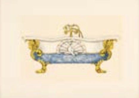 Vasca Da Bagno Quadro : Quadro vasca da bagno stile belle epoque e a