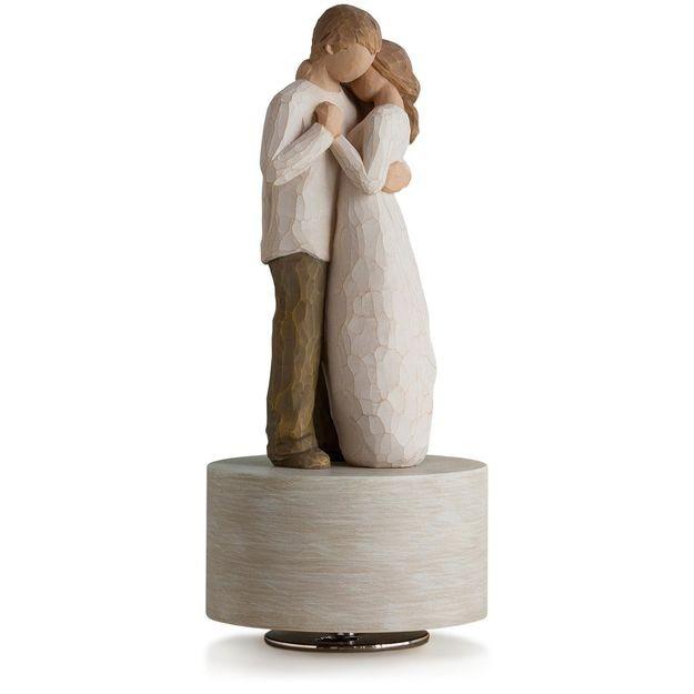 Bomboniere Matrimonio Willow Tree.Statua Willow Tree Carillon Musicale Promise 26457