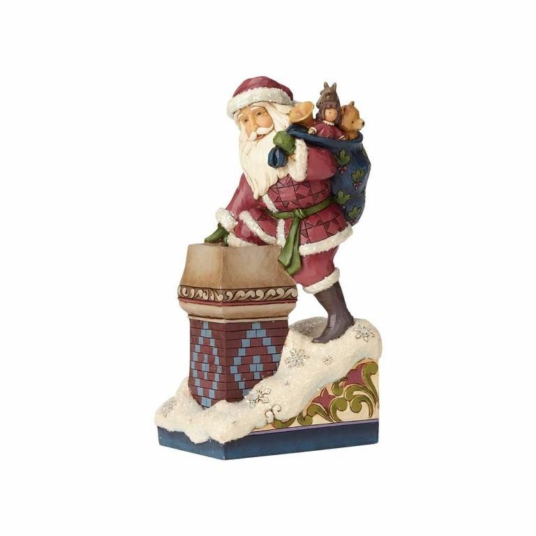 Immagini Natale Vittoriano.La Magia Di Babbo Natale Vittoriano Jim Shore Heartwood Creek 4058752