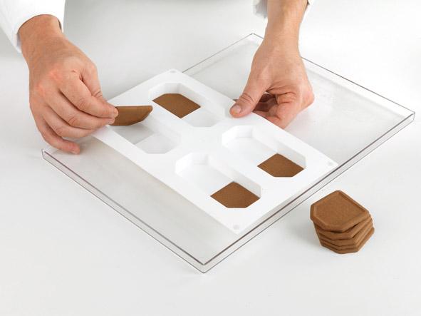 Stampo silicone per biscotto gelato crock bisc05 arte for 30x40 planimetrie della casa