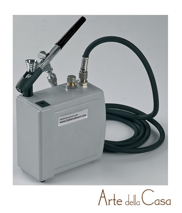 Mini compressore e aerografo linea decocp01 arte della casa - Arte della casa ...