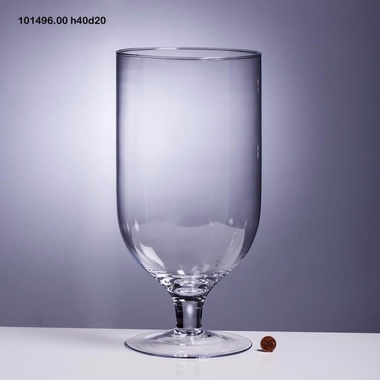 Vaso ammaccato in vetro arte della casa - Arte della casa ...